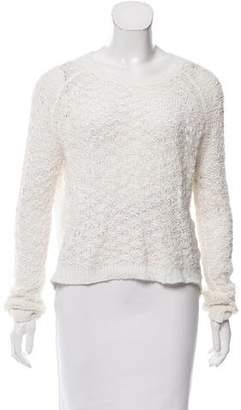 Theyskens' Theory Open Knit Scoop Neck Sweater