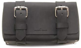 Colsenkeane Leather No. 215 Deep Black Leather Travel Case