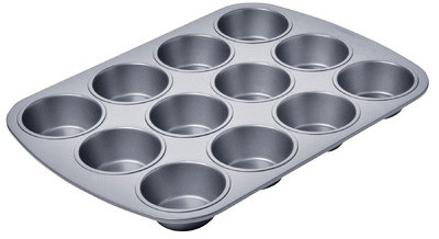 Chicago Metallic Amco Houseworks 12 Cup Betterbake Non Stick Muffin Pan