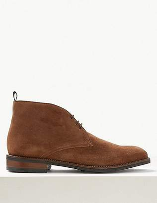 Marks and Spencer Suede Lace-up Chukka Boots