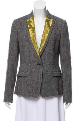 Dolce & Gabbana Tweed Wool Blazer w/ Tags