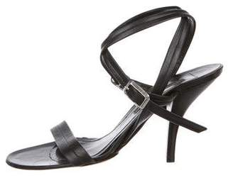 Narciso Rodriguez Wrap-Around Strap Leather Sandals