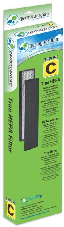 Guardian Technologies GermGuardian FLT5000 Filter C True HEPA Replacement