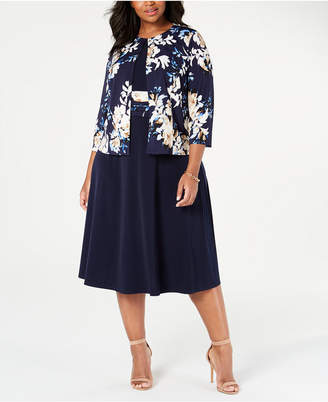 Plus Size Midi Dresses - ShopStyle