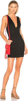 MinkPink Phoebe Fitted Pinnie Dress.