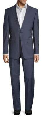 Calvin Klein Slim-Fit Neat Wool Suit