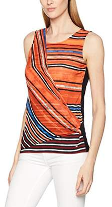 Gerry Weber Women's C Culture Surfing Regular Fit Sleeveless Vest,(Manufacturer Size: 42)
