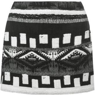 Alice + Olivia Alice+Olivia multi-pattern skirt