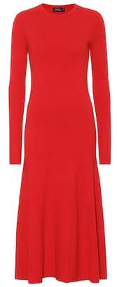 Polo Ralph Lauren Cotton-blend knit dress
