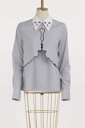 Vivetta Cat collar shirt