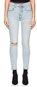 ADAPTATION Women's Grind Distressed Skinny Jeans-Blue