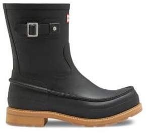 Hunter Moc Toe Short Boots