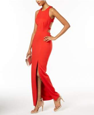 Betsy & Adam Strappy-Back Scuba Gown