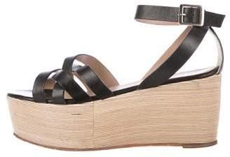 Pour La Victoire Crossover Platform Sandals