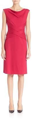Escada Women's Dondi Sleeveless Crisscross Dress