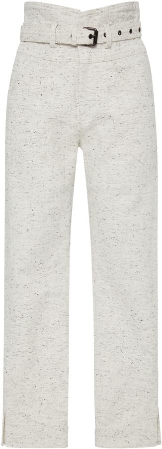Isabel Marant High-Rise Cotton Pants 6