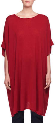 The Row Cafty Cashmere-Silk Poncho