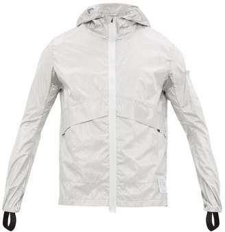 Satisfy Pack Away Metallic Windbreaker Jacket - Mens - Silver