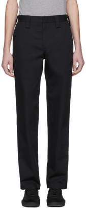 Acne Studios Black Astym Trousers
