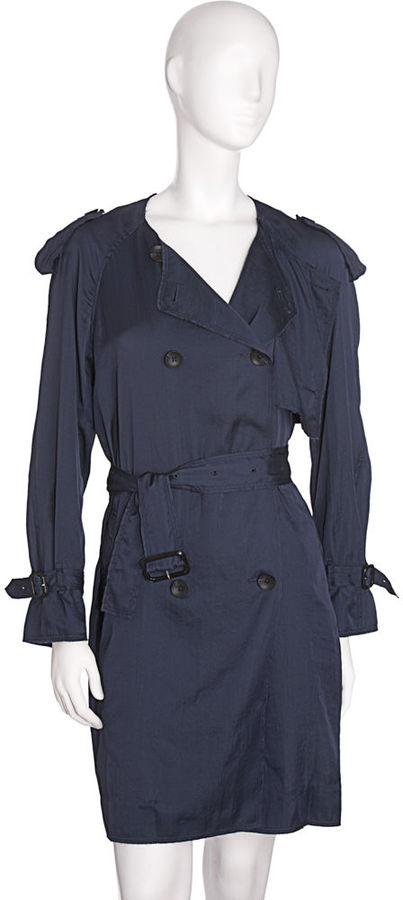 3.1 Phillip Lim Relaxed Trench - Navy