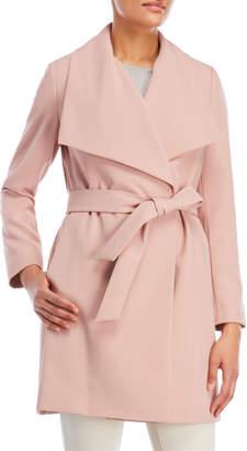 Lauren Ralph Lauren Belted Crepe Coat