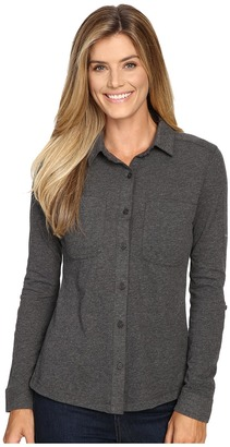 Columbia - Saturday Trail Knit Long Sleeve Shirt Women's Long Sleeve Button Up $50 thestylecure.com