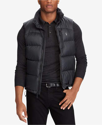 Polo Ralph Lauren Men's Big & Tall Quilted Ripstop Down Vest