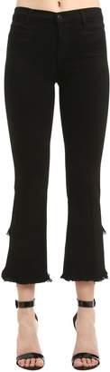 J Brand Selena Boot Cut Crop Stretch Denim Jeans
