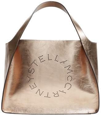 112428dc4bc15 Stella McCartney Metallic Logo Tote Bag