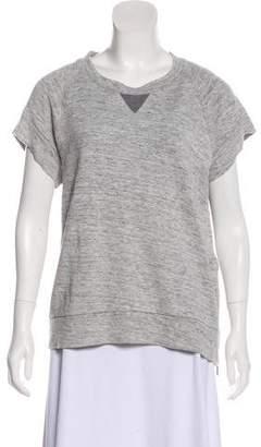 J Brand Short Sleeve Sweatshirt