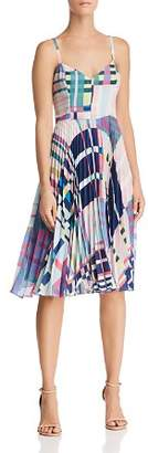 Parker Magna Geo-Print Dress