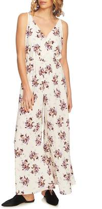 1 STATE 1.STATE Wildflower Surplice Jumpsuit