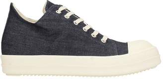 Drkshdw Blue Denim Low Sneakers