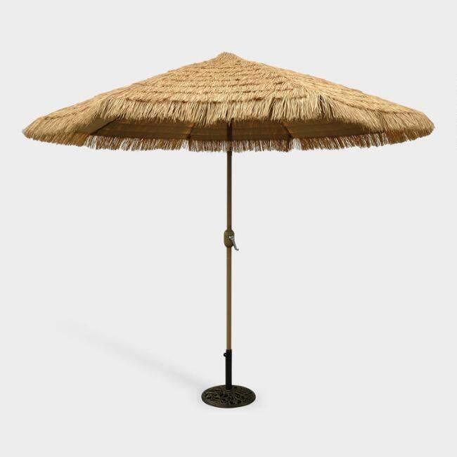 9-ft. Thatched Market Umbrella