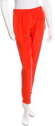 Tibi Silk Skinny Pants