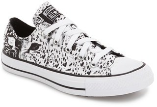 Women's Converse Chuck Taylor All Star Animal Print Low Top Sneaker $54.95 thestylecure.com
