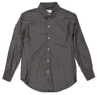 Band Of Outsiders Striped Silk Button-Up Shirt