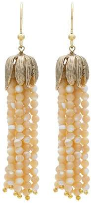 Rosantica Metallic Grillo tassel earrings