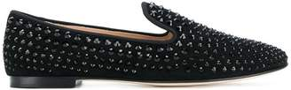 Giuseppe Zanotti Design David studded loafers