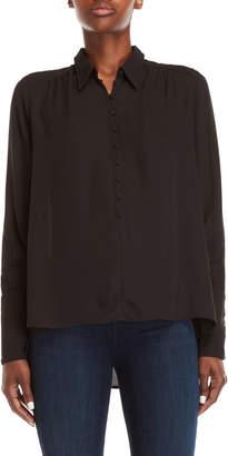 J.o.a. Black Long Sleeve Shirt