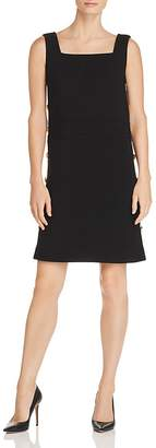 Tory Burch Sleeveless Side-Button Shift Dress