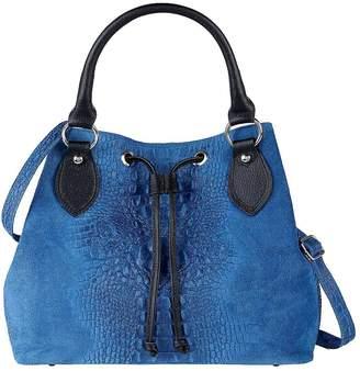 Kaleidoscope Italian Leather Slouch Style Bag