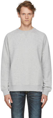 Norse Projects Grey Ketel Summer Classic Crew Sweatshirt