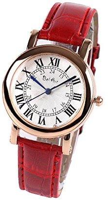 Bel Air [ベルエア 腕時計 アナログ ローマ数字インデックスのアンティーク調 レディース メンズ シンプル ウォッチ DNS19