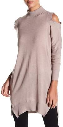Fate Cold Shoulder Turtleneck Sweater