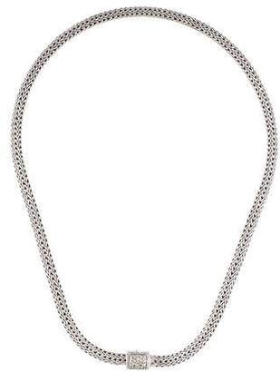 John Hardy Diamond Classic Chain Necklace