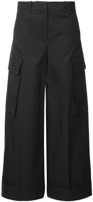 CK Calvin Klein extreme wide leg trousers