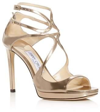 bb543fdb7aa Jimmy Choo Women s Lance 100 Strappy High-Heel Sandals