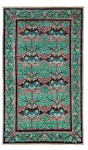 Morris Collection Oriental Rug, 5' x 8'9