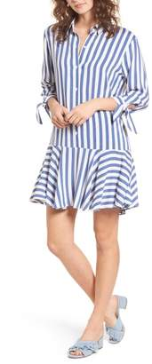 One Clothing Drop Waist Shirtdress